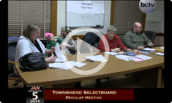 Townshend Selectboard Meeting 1/5/15