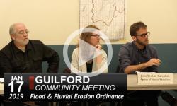 Guilford Selectboard Public Info Mtg 1/17/19