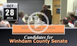 Brattleboro Citizens Breakfast - Wdh Senate Candidates 10/28/16
