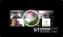 Vernon Selectboard: Vernon SB Special Mtg 4/29/20