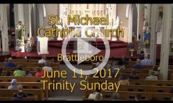 Mass from Sunday, June 11, 2017