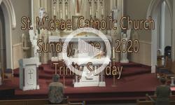 Mass from Sunday, June 7, 2020