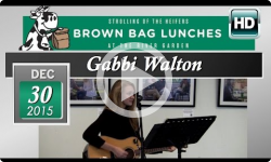 Gabbi Walton: River Garden Brown Bag Lunch 12/30/15