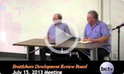 Brattleboro Development Review Board 7/15/13