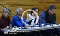 2019 Guilford Town Mtg 3/5/19