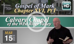 Calvary Chapel: March 15, 2015