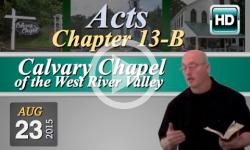 Calvary Chapel: August 23, 2015