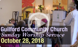 Guilford Church Service - 10/28/18