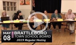 Brattleboro Town School Bd Mtg 5/8/19