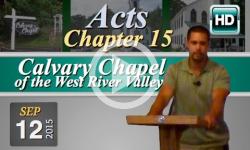 Calvary Chapel: September 13, 2015