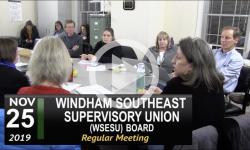WSESU Board Mtg 11/25/19