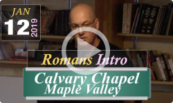 Calvary Chapel: Introduction To Romans