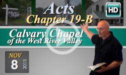 Calvary Chapel: November 8, 2015