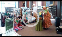 Puppet Show at Brooks Library 2/23/17