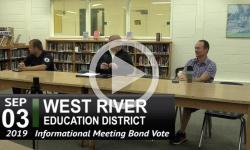 WRED Public Info Hearing on Bond Vote 9/3/19