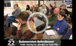Dummerston Selectboard Mtg. 1/22/14