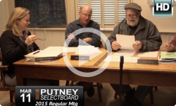 Putney Selectboard 3/11/15