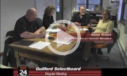 Guilford Selectboard Mtg. 3/24/14