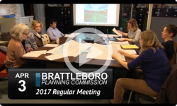 Brattleboro Planning Commission Mtg 4/3/17