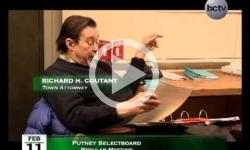 Putney Selectboard Mtg 2/11/15