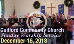 Guilford Church Service - 12/16/18