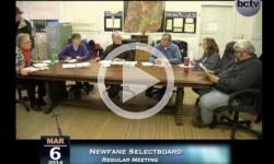 Newfane Selectboard Mtg. 3/6/14