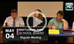 Brattleboro Town School Bd Mtg 5/4/16