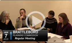 Brattleboro Planning Commission Mtg 1/7/19