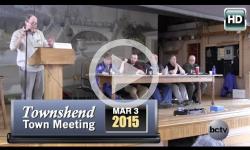 2015 Townshend Town Mtg 3/3/15