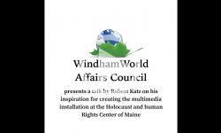 Windham World Affairs Council presents a talk by Robert Katz