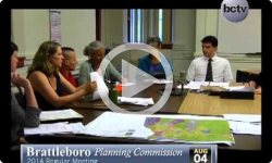 Brattleboro Planning Commission 8/4/14