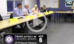 Brattleboro Union Highschool Board Mtg 4/6/15