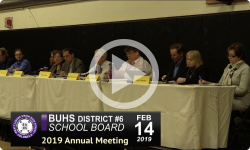 BUHS Annual Bd Mtg 2/14/19