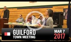 2017 Guilford Town Mtg 3/7/17