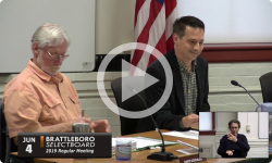 Brattleboro Selectboard Mtg 6/4/19