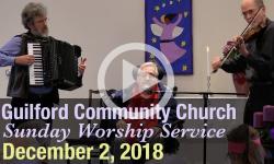 Guilford Church Service - 12/2/18