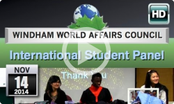 WWAC: Exchange Students 11/14/14