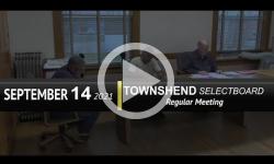 Townshend Selectboard: Townshend SB Mtg 9/14/21