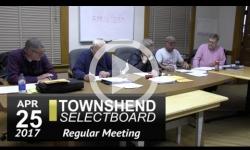 Townshend Selectboard Mtg 4/25/17