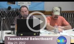 Townshend Selectboard Mtg. 5/21/12