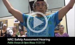 NRC: VT Yankee Safety Assesment Hearing, Open House 5/23/12
