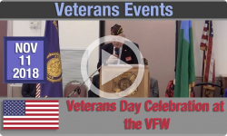 Veterans Events: Veterans Day Celebration at the VFW 11/11/18