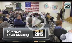 2015 Vernon Town Mtg Pt 2 3/3/15