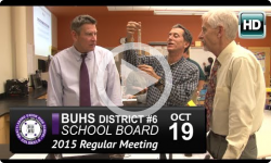 Brattleboro Union High School Board Mtg 10/19/15