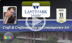 Landmark College presents Dave Cole, 'Contemporary Art' - 11/11/13
