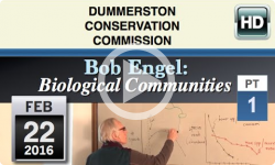 DCC: Bob Engel- Biological Communities #1- 2/22/16