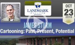 Landmark College Presents: James Sturm, Cartooning - Past, Present, Potential