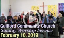 Guilford Church Service - 2/10/19