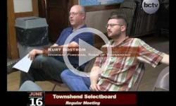 Townshend Selectboard Mtg 6/16/14
