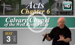 Calvary Chapel: May 3, 2015